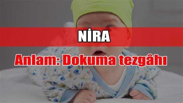 nira adının anlamı