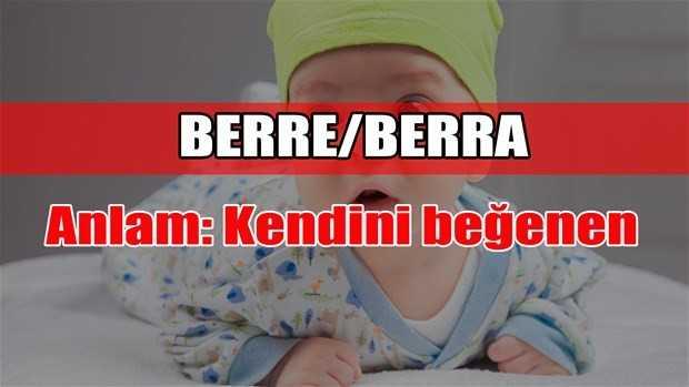 berre - berra adının anlamı