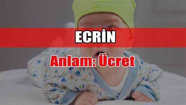 ecrin adının anlamı