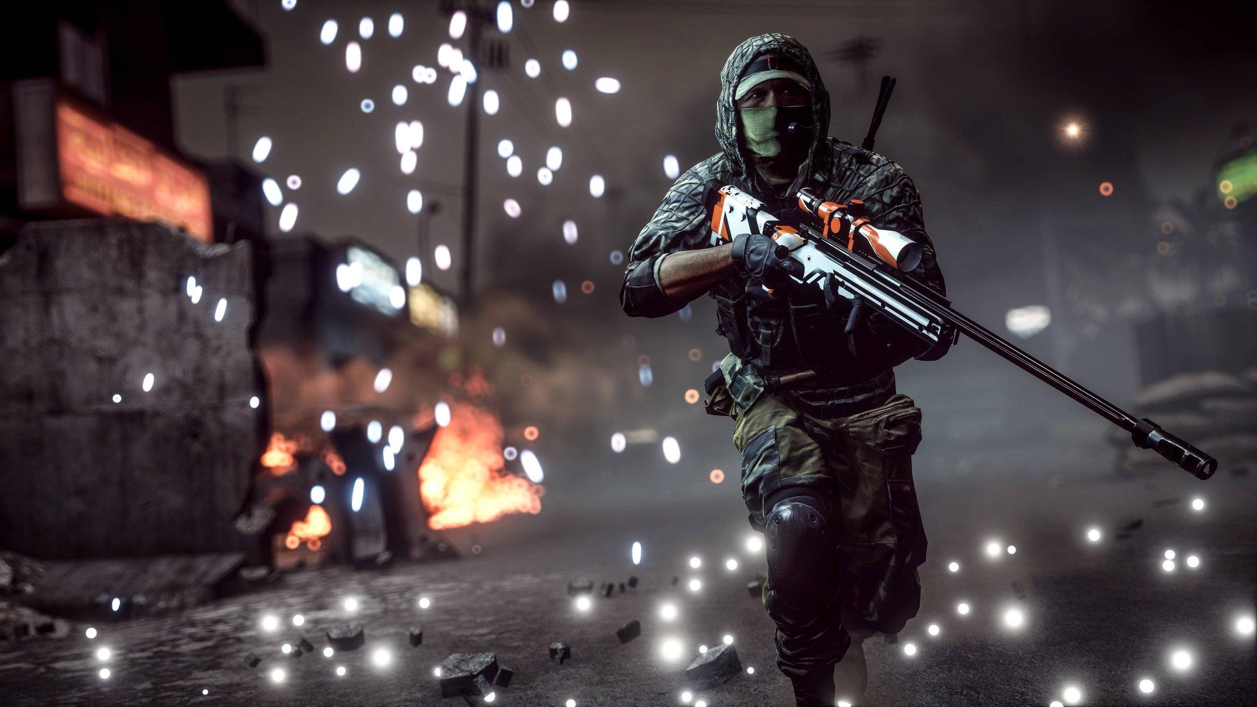 Battlefield 4 Oyunu 4K Bilgisayar duvar kağıdı