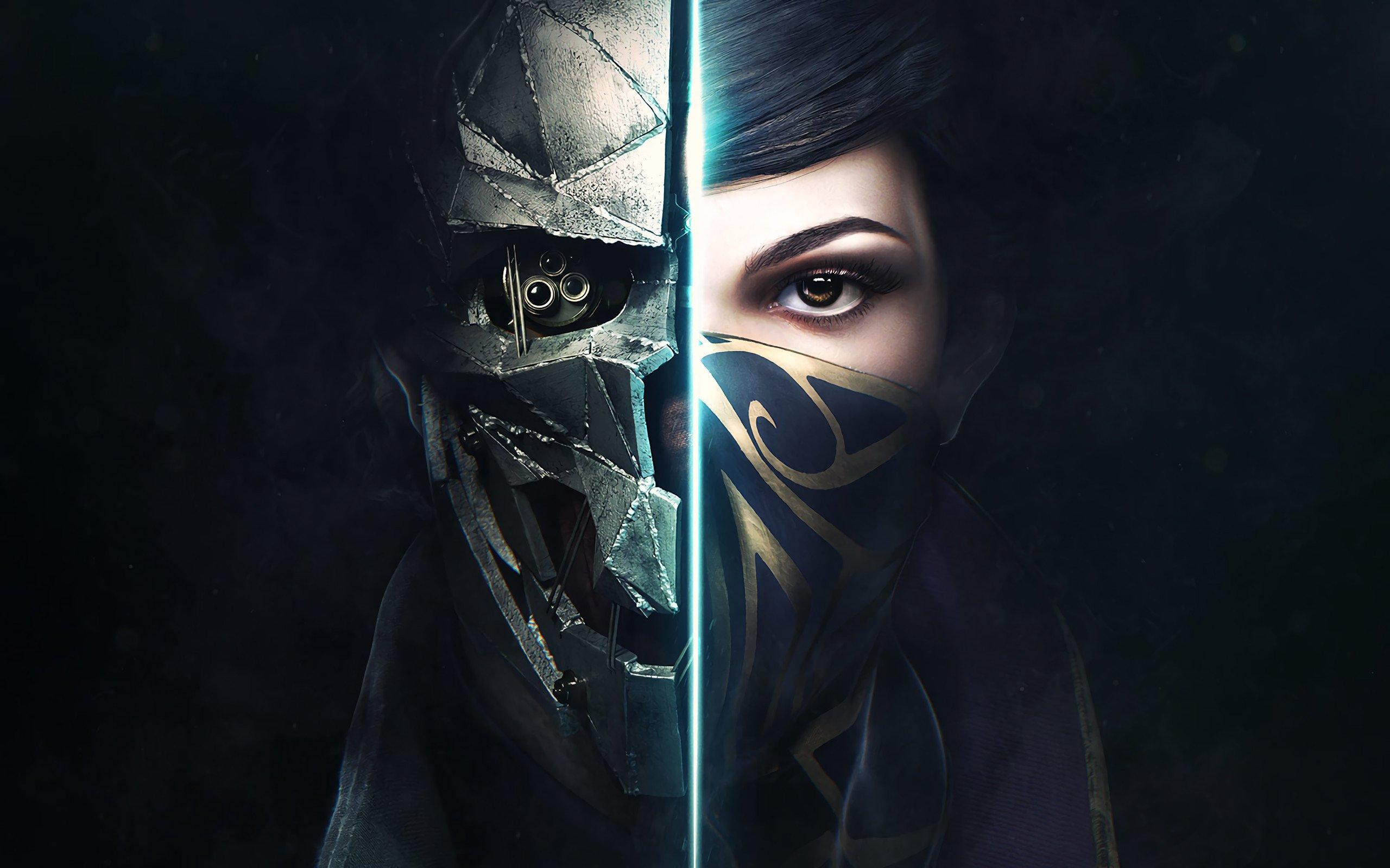 Dishonored 2 oyunu 4K Duvar kağıdı