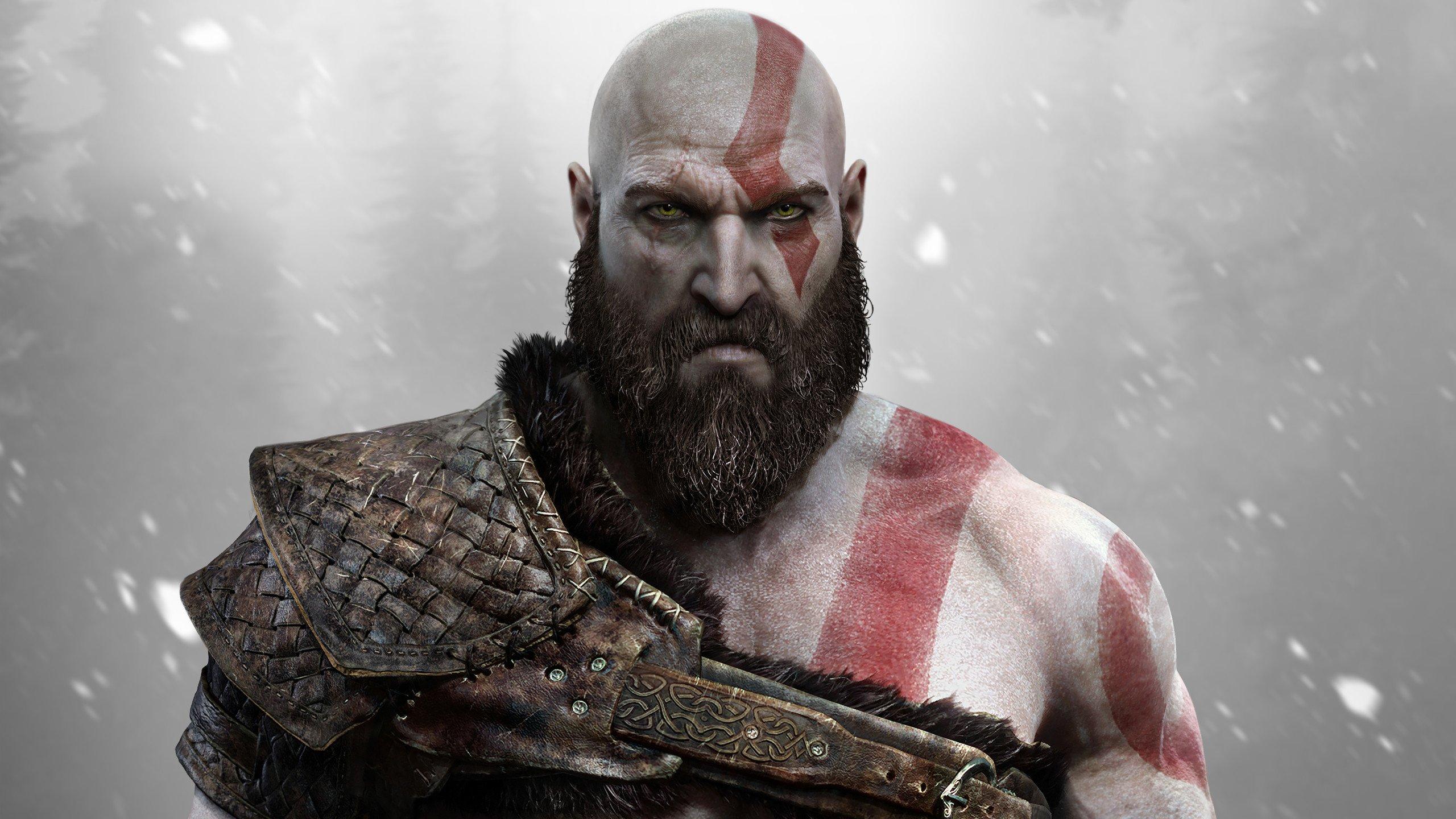 God of War 4 oyunu 4K Duvar Kağıdı