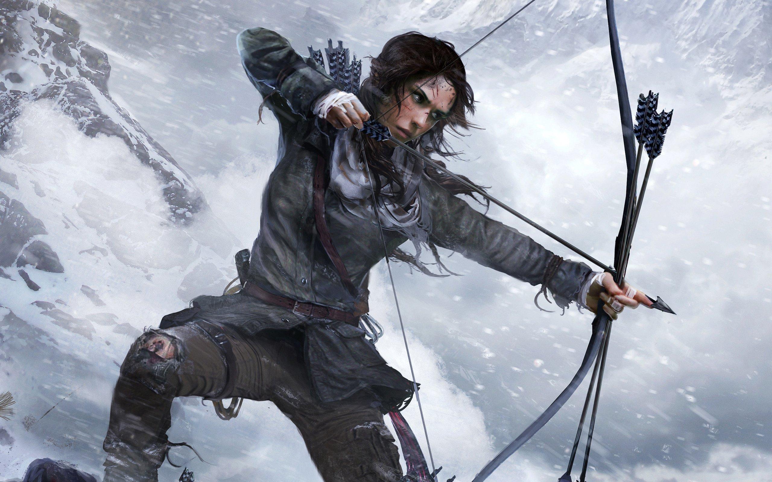 Rise of the Tomb Raider Ultra HD Duvar kağıdı