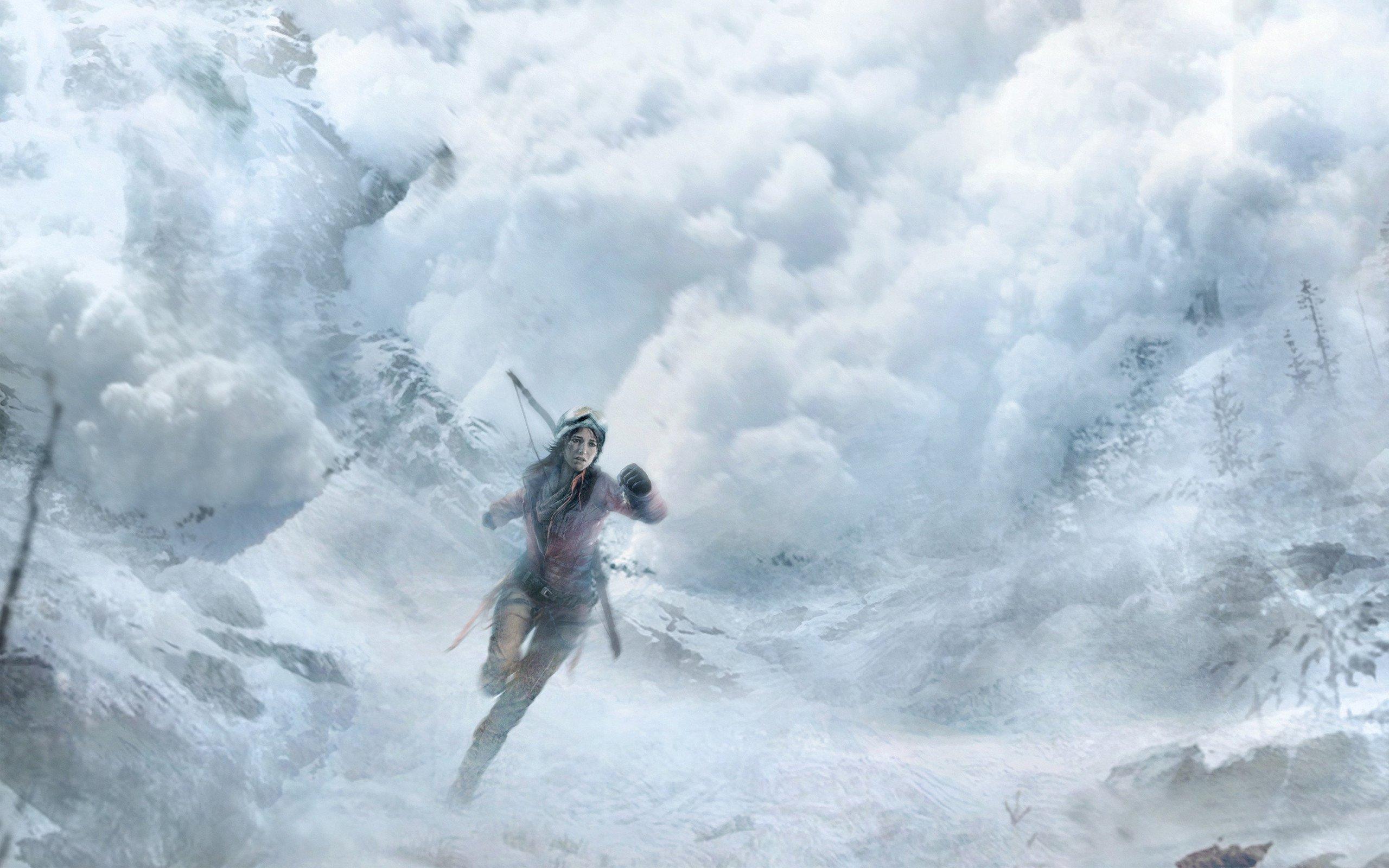 Rise of the Tomb Raider 4K Duvar Kağıdı