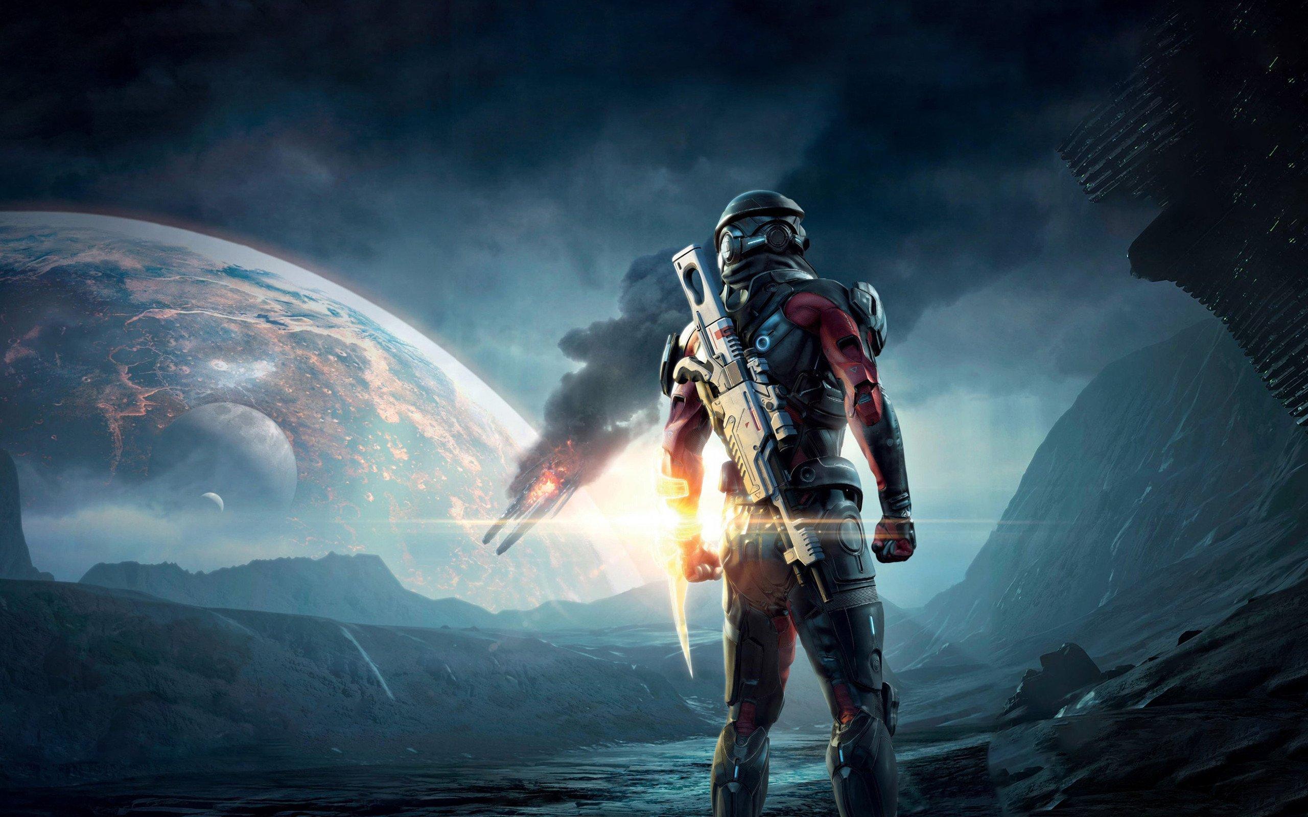 Mass Effect: Andromeda Ultra HD 4K Duvar kağıdı