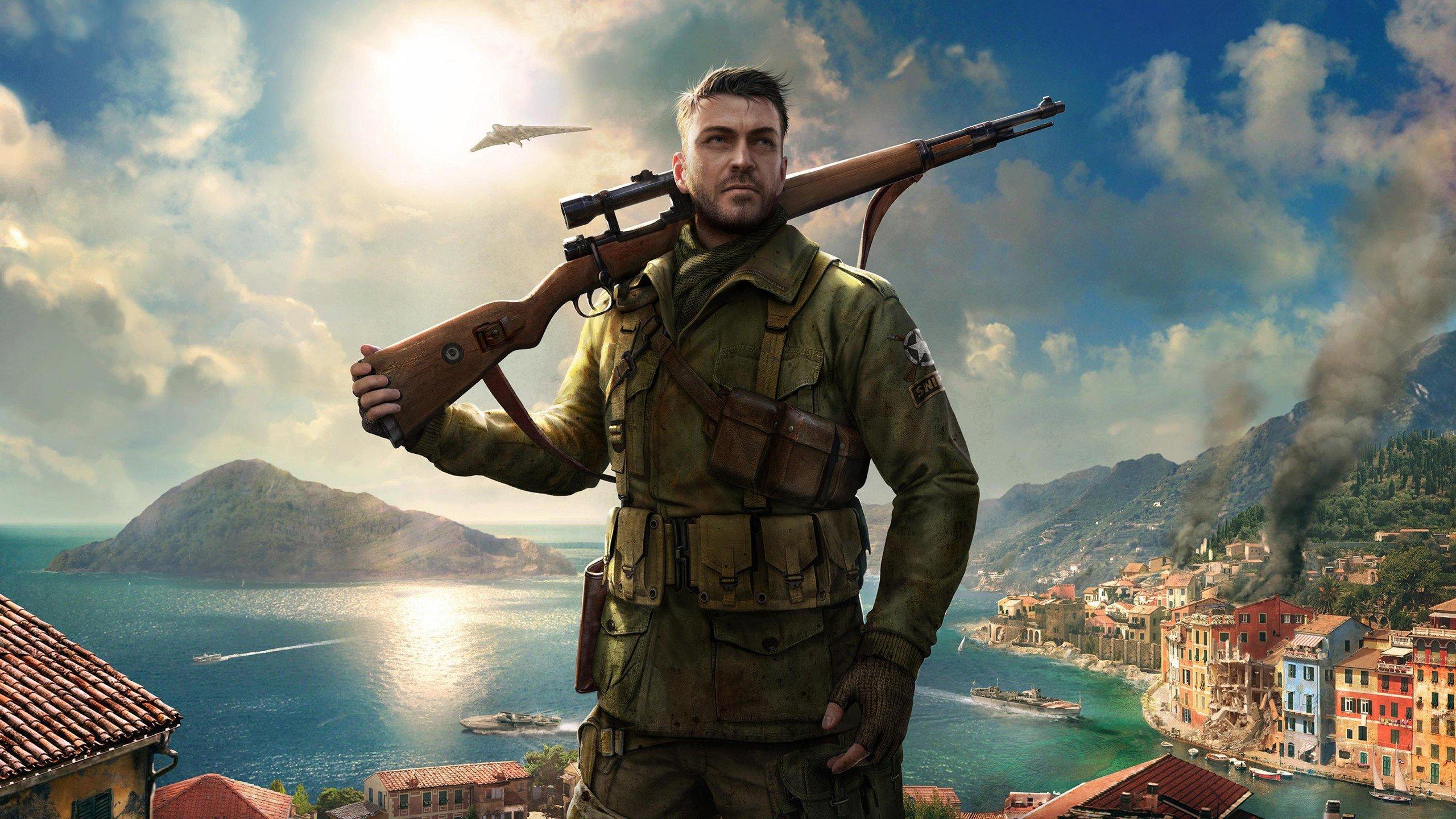 Sniper Elite 4 Oyunu Yüksek çözünürlüklü duvar kağıdı