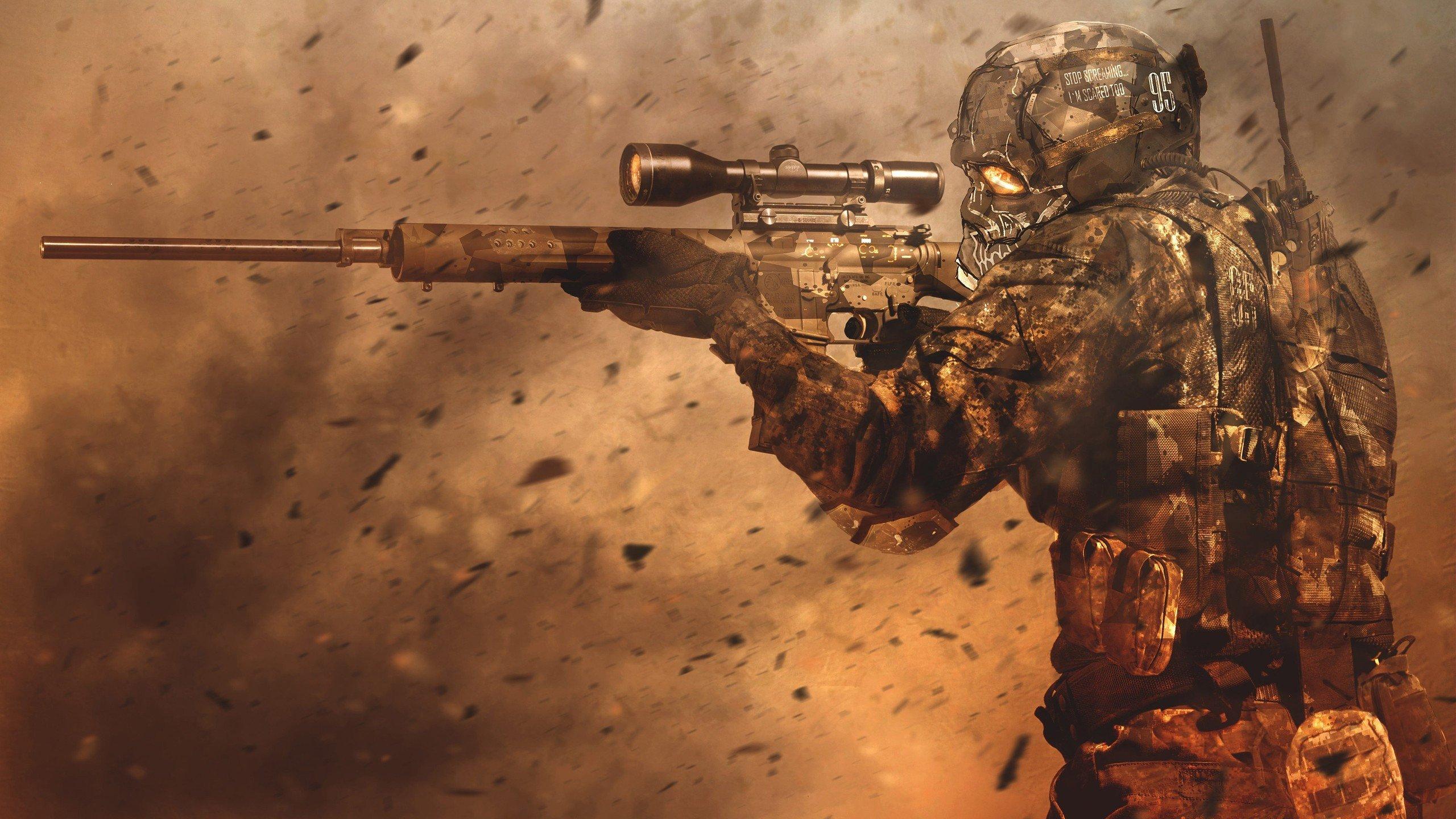 Call of Duty Oyunu 4K PC Duvar kağıdı