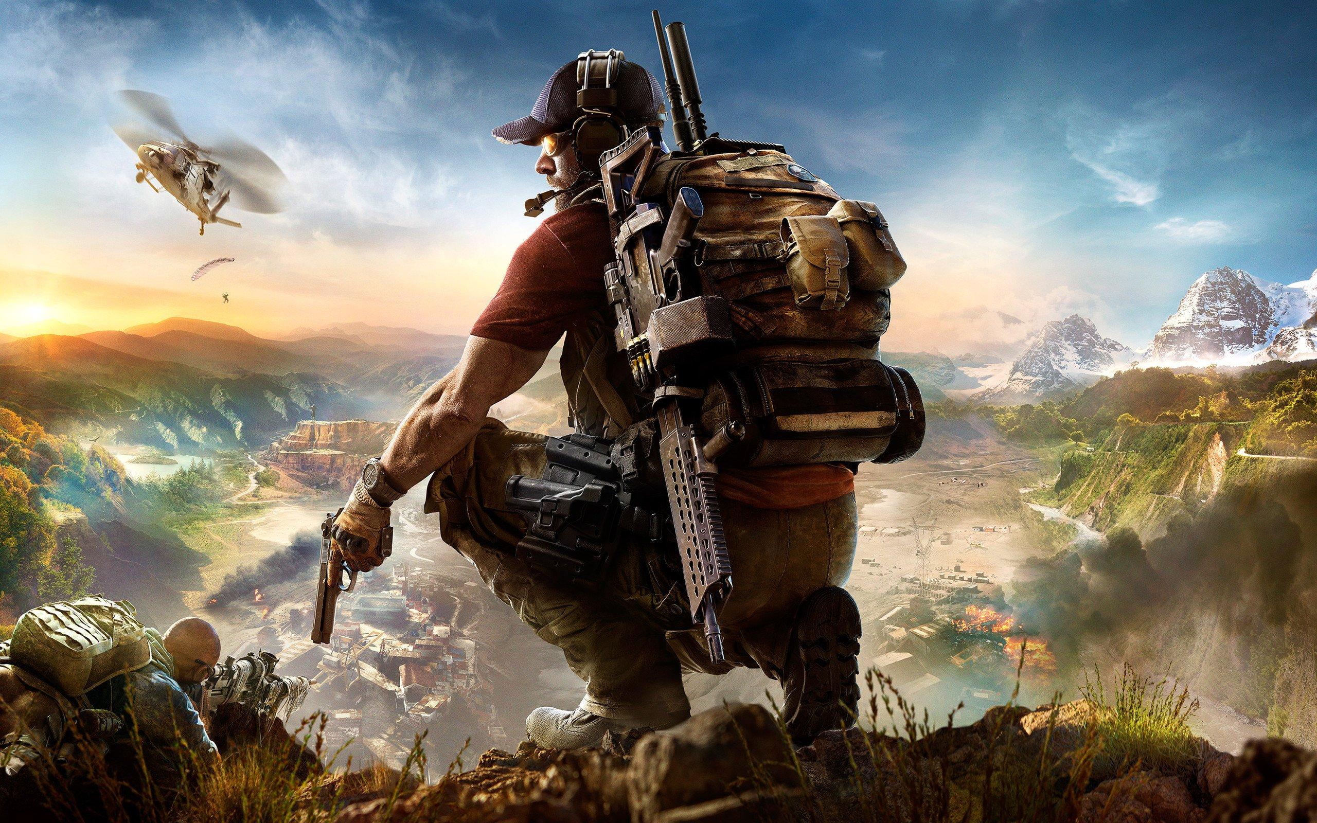 Tom Clancy's Ghost Recon: Wildlands oyunu PC Duvar kağıdı