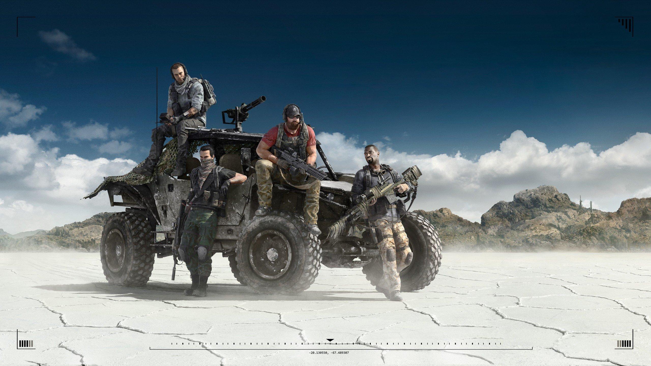 Tom Clancy's Ghost Recon Wildlands oyunu 4K Duvar kağıdı