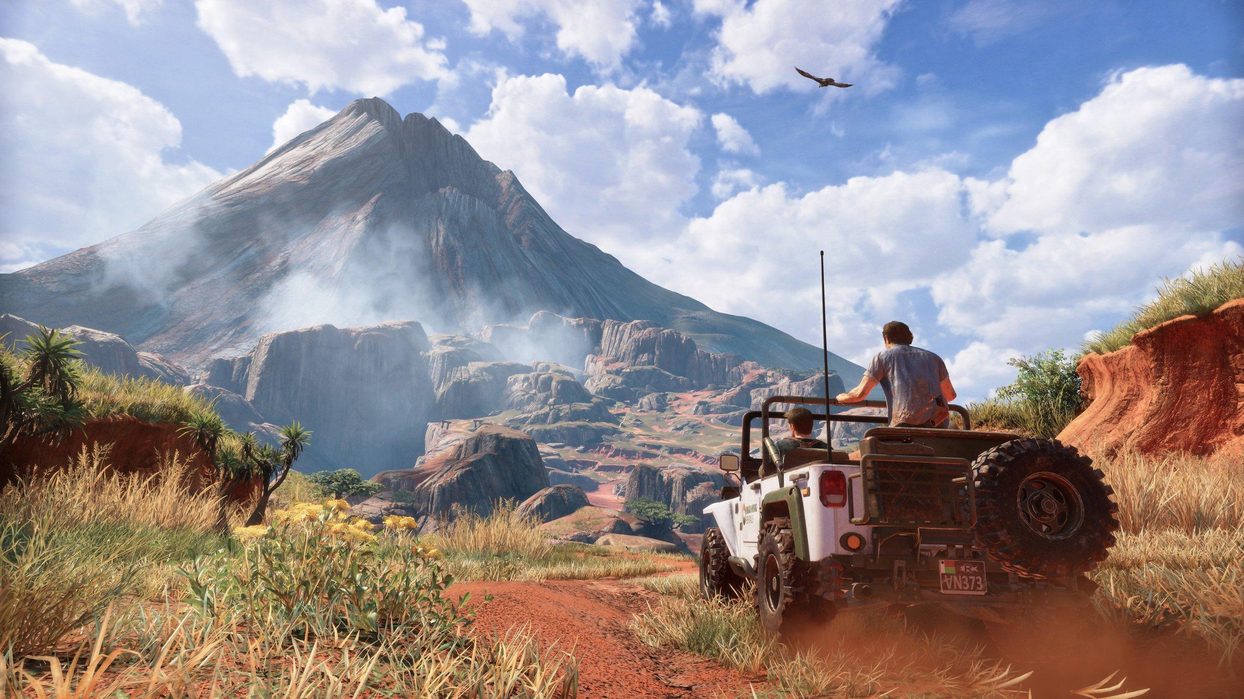 Uncharted 4: A Thief's End 4K PC Duvar Kağıdı
