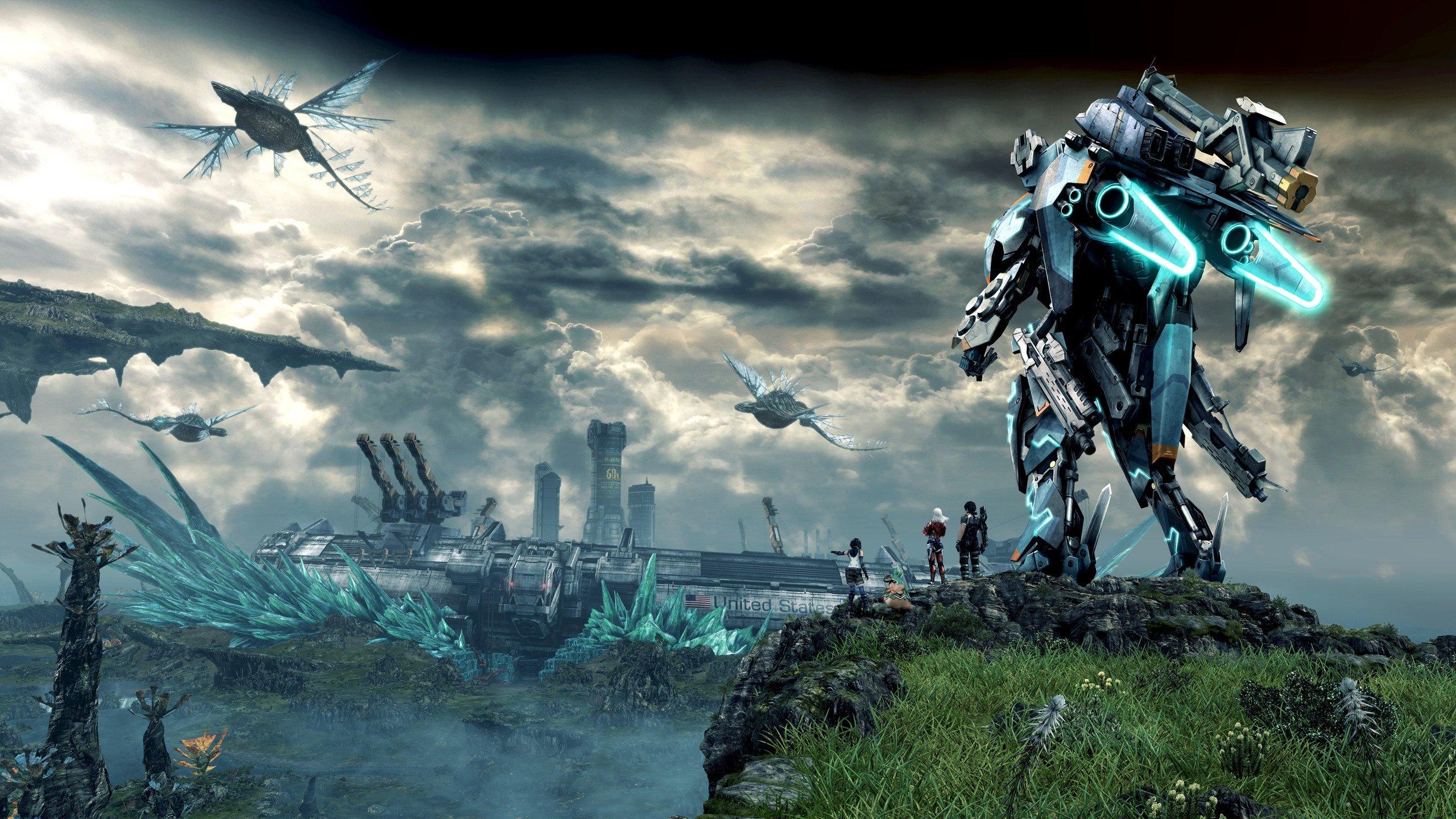 Xenoblade Chronicles oyunu ultra HD Bilgisayar duvar kağıdı