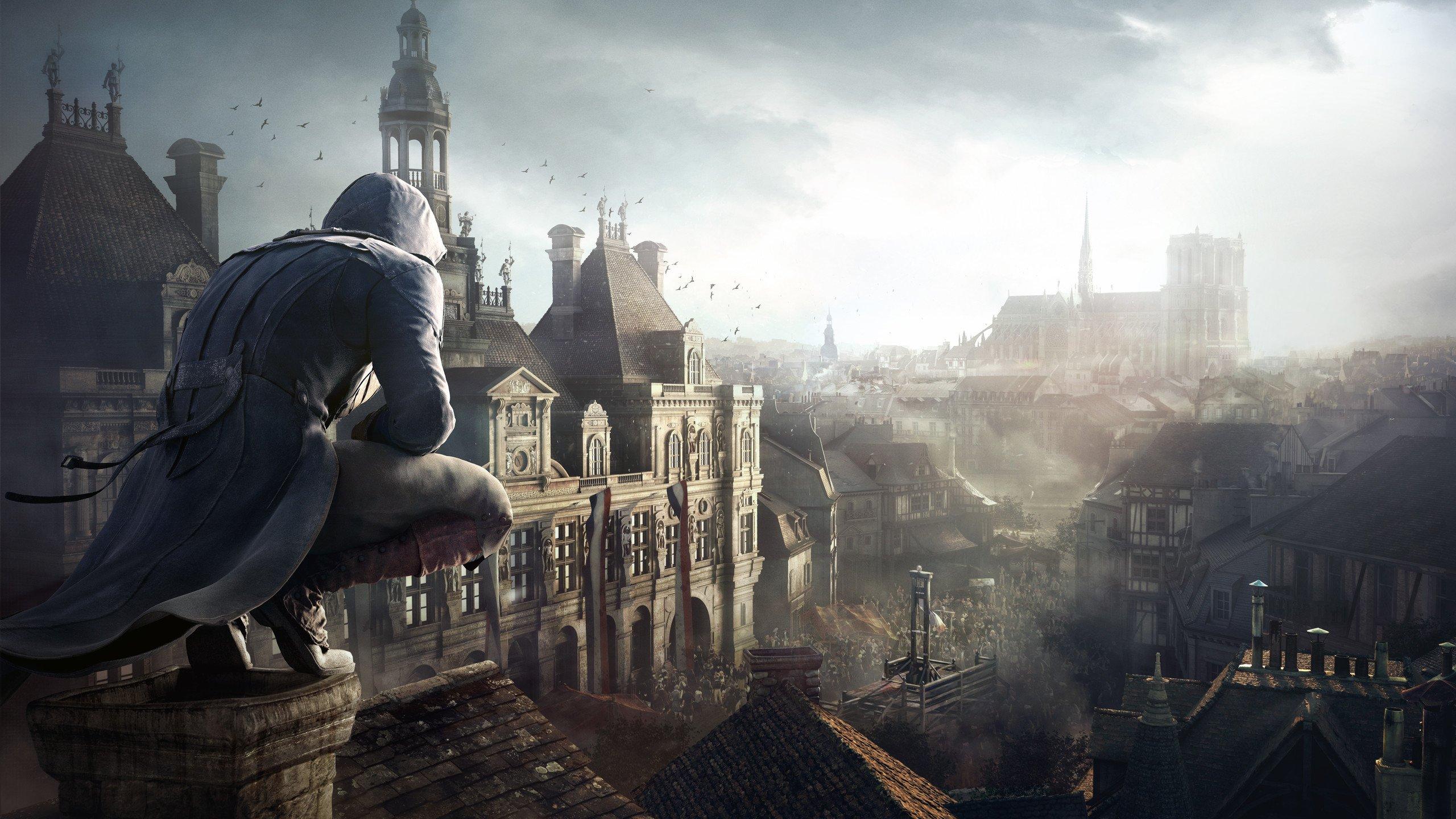 Assassins Creed: Unity 4K Duvar kağıdı