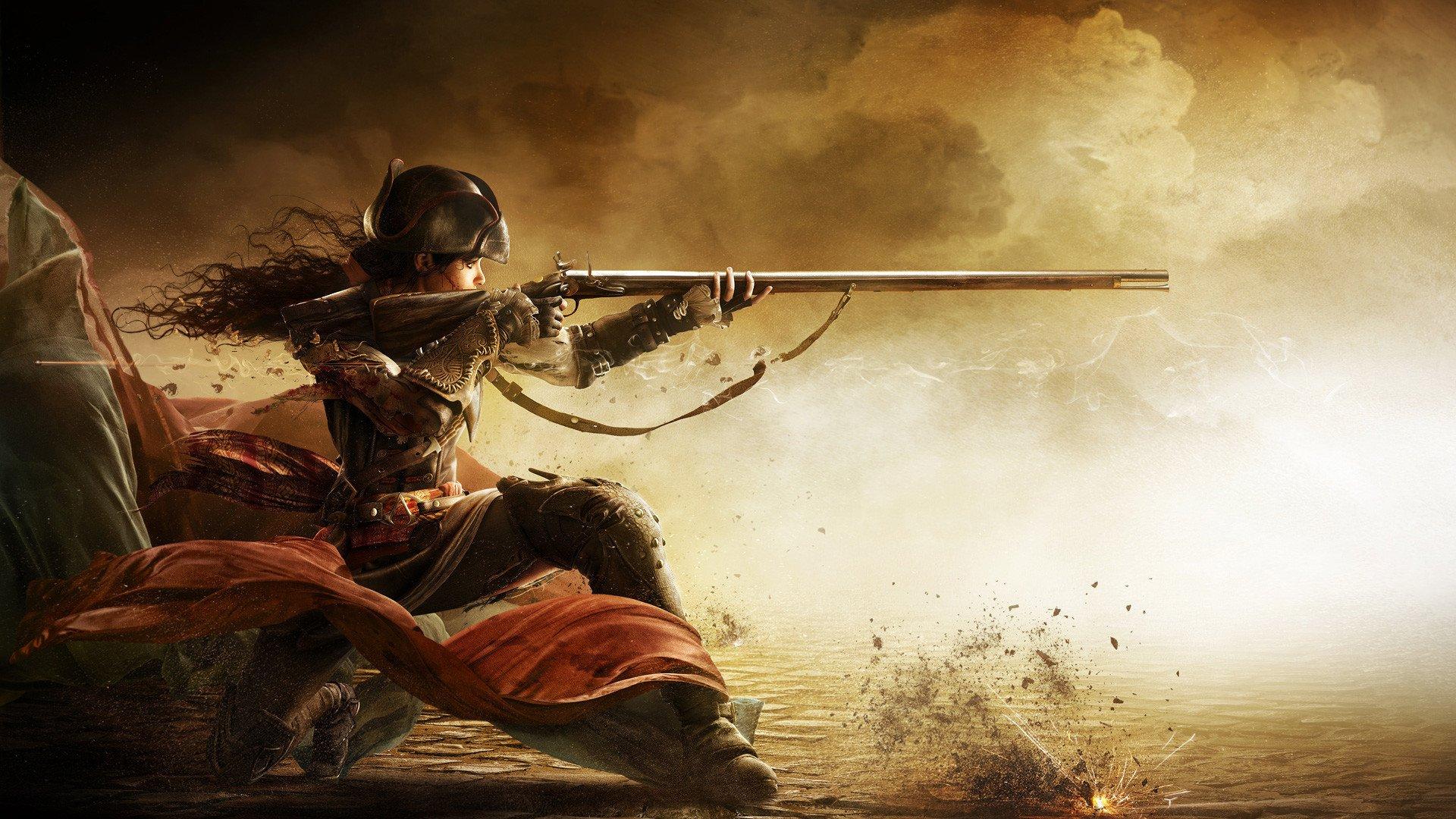 Assassin's Creed Liberation HD oyunu 4K duvar kağıdı