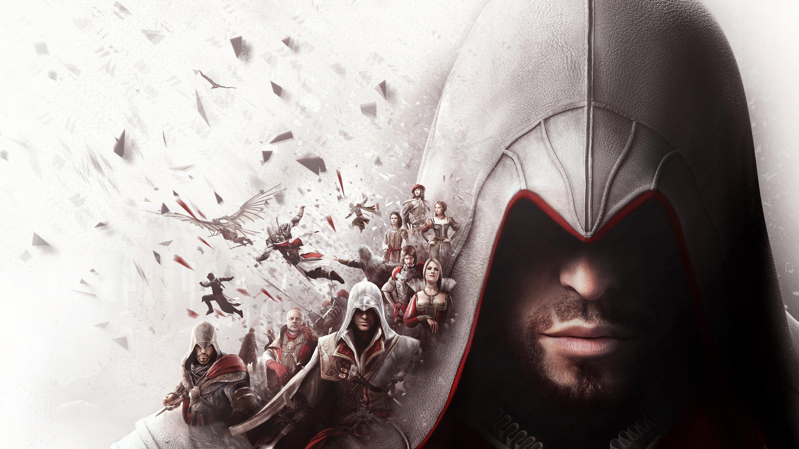 Assassins Creed 4K Duvar kağıdı