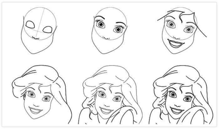 Pratik Kız Resmi Nasıl Çizilir