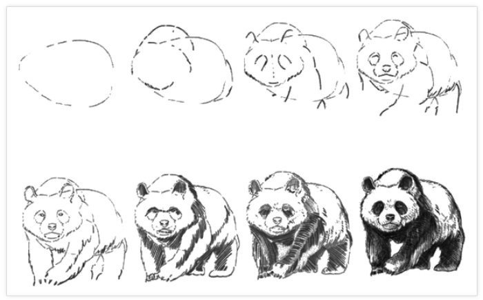 Pratik Panda Nasıl Çizilir