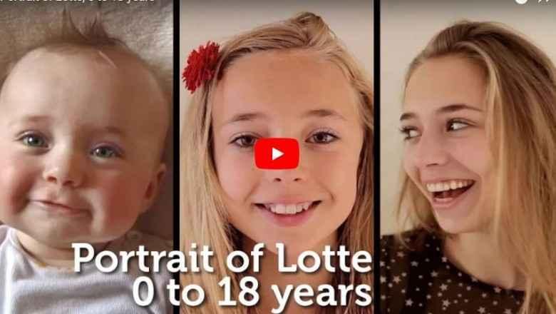 Photo of Doğumundan 18 Yaşına Kadar Kızının Fotoğraflarını Çeken Babanın Hazırlığı Güzel Video