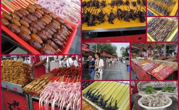 Çin - Pekin Food Market