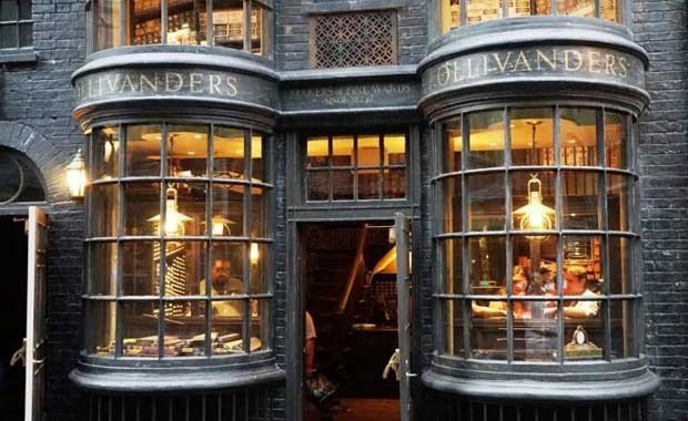 İngiltere - Londra - Diagon Alley Mağazası