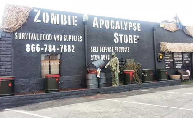 ABD - Las Vegas - Zombi Keşif Mağazası