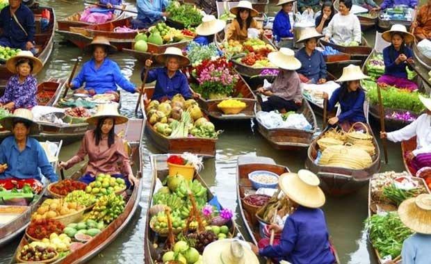 Banjarmasin - Muara Kuin Floating Market