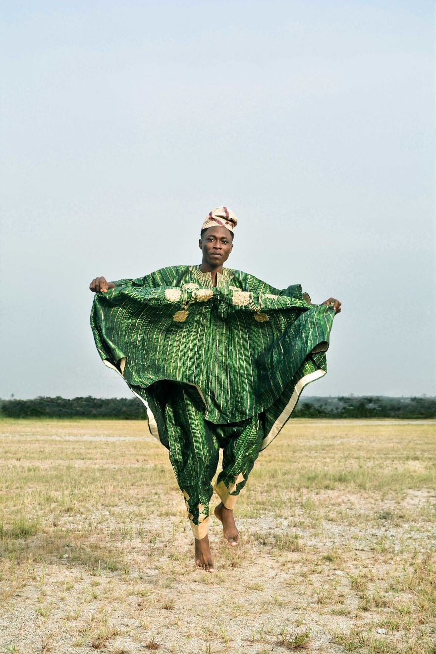 Adelou Osibodu - Portre