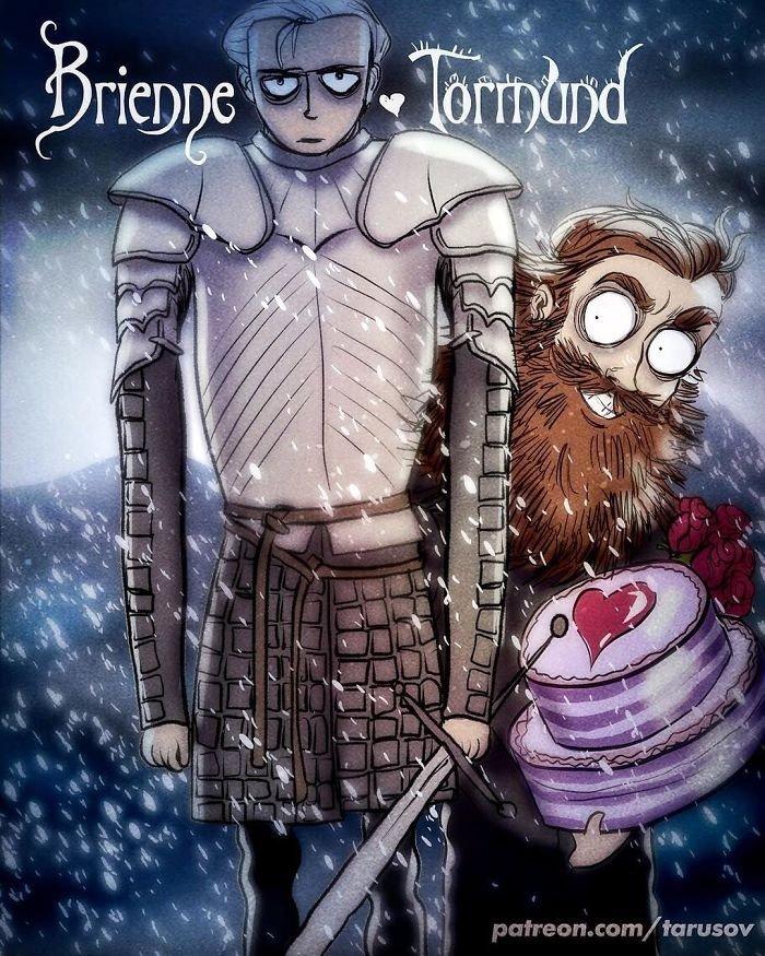 Brienne ve Tormund