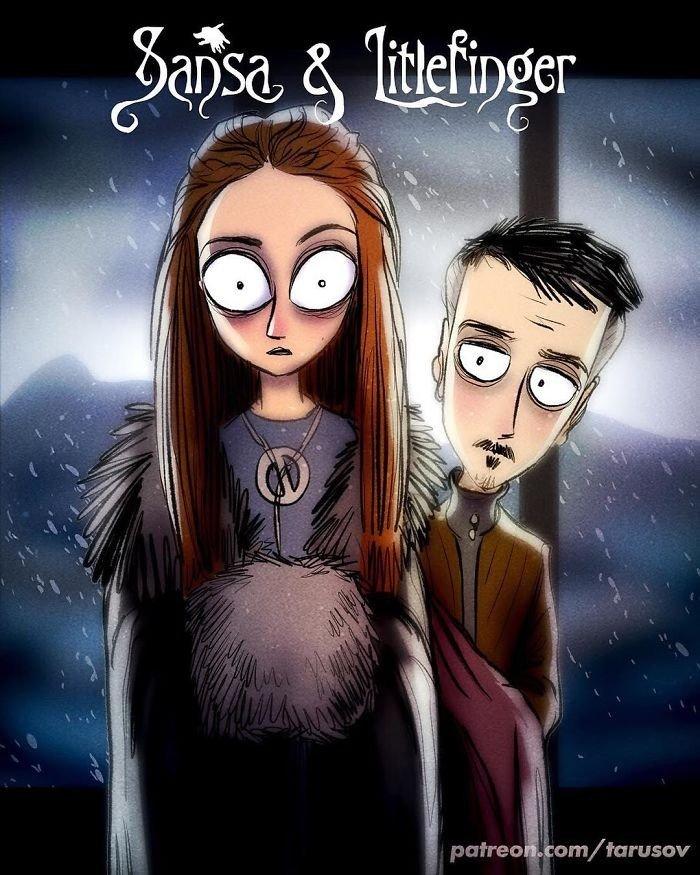 Sansa Stark ve Littlefinger