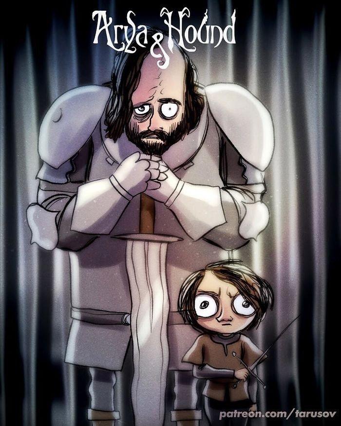Arya Stark Ve Tazı