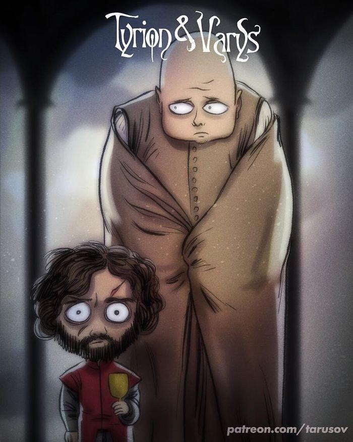 Tyrion ve Varys