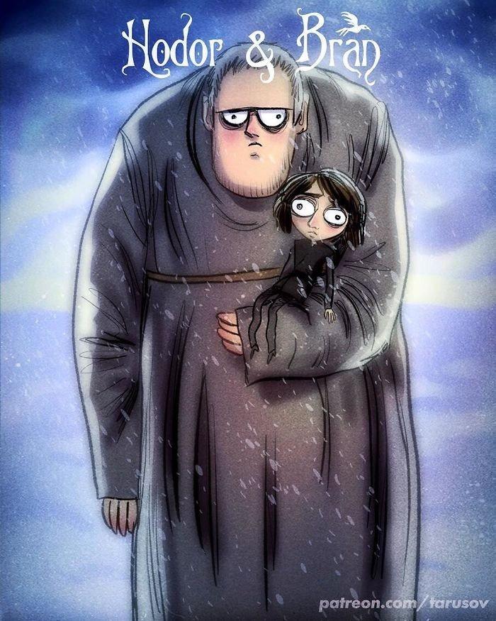 Hodor & Bran