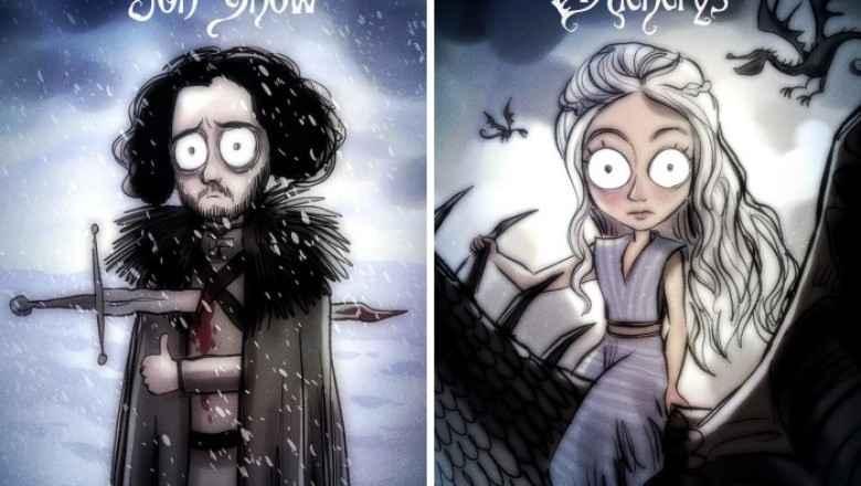 Game Of Thrones Karakterlerinin Harika Çizilmiş Karikatüleri