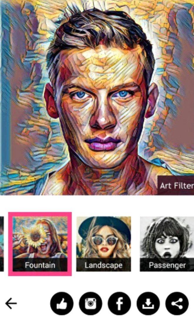 Art Filter Photo