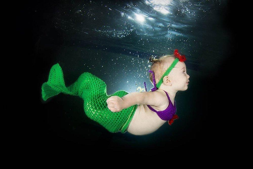 Deniz kızı bebek