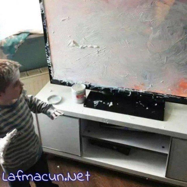 Sanatçı çocuk ama dayak sanatını da öğrenebilir