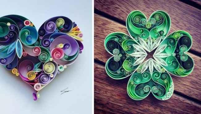 Kağıttan Yapılmış Bir Sanat, Rengarenk Kağıtlardan Yapılan Süs Eşyaları