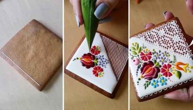 Kurabiye ve Pasta Süsleme Sanatının Dahisinden Kurabiyeler