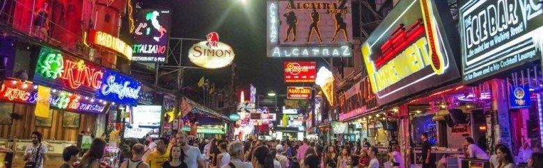 Pattaya'nın Gözdesi: Walking Street