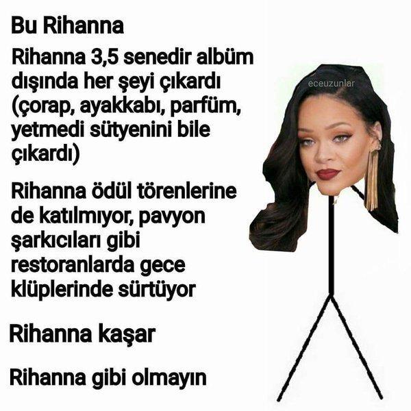 Bu Rihanna Gibi de Olmayın