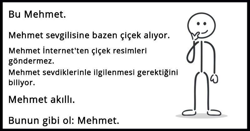 Bu Mehmet Gibi Olun