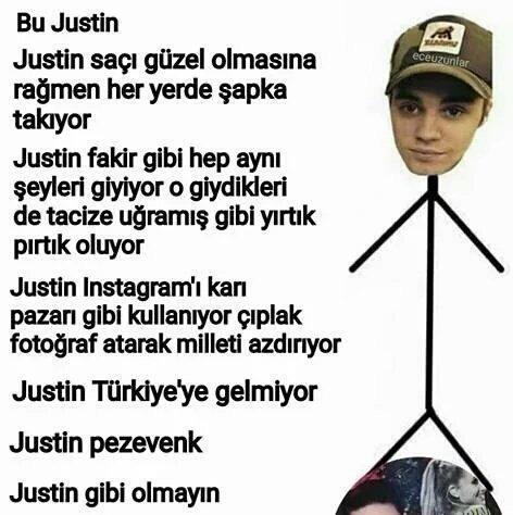Bu Justin Gibi Olmayın