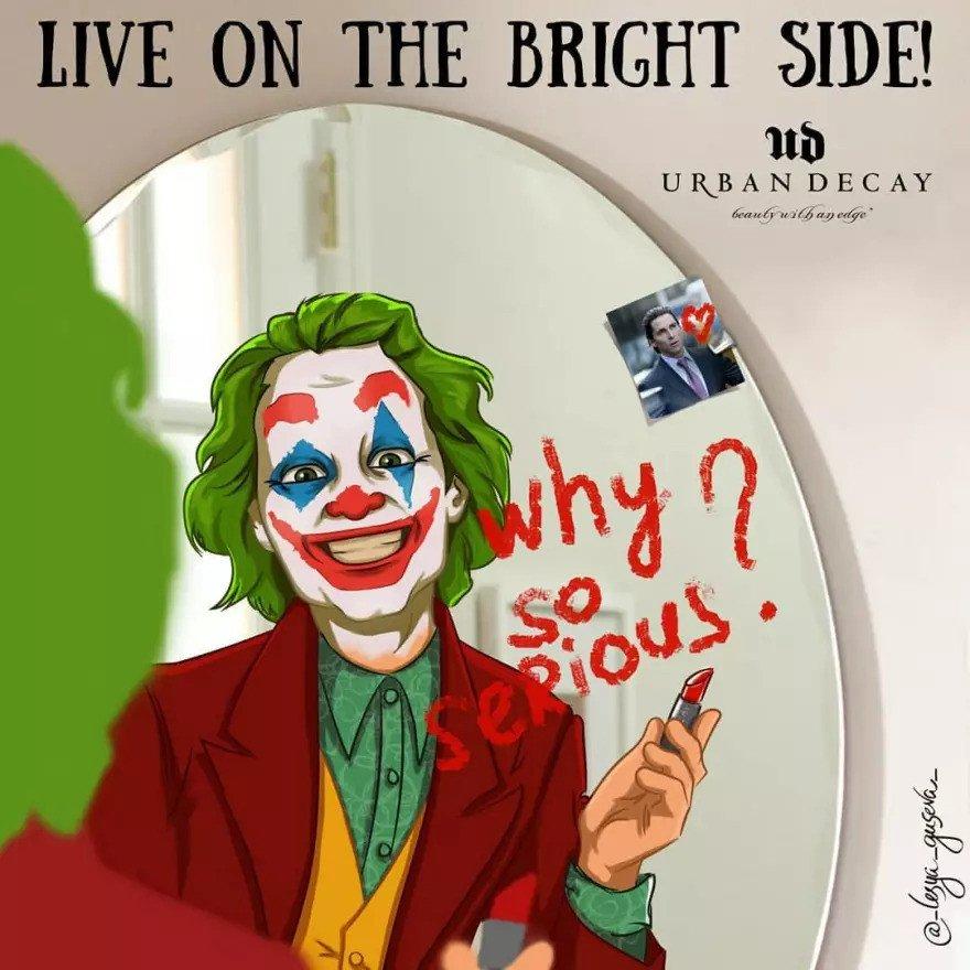 Joker - Kozmetik reklamı