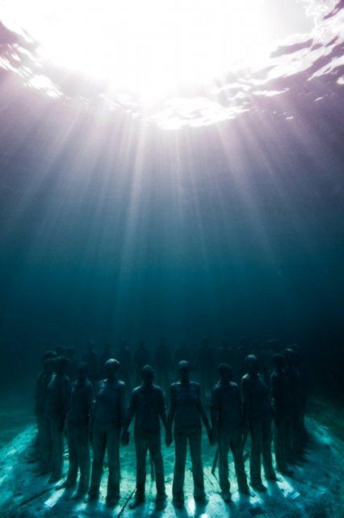 En Güzel Su altı Heykelleri