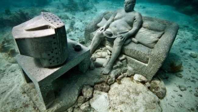 Yapılmış En Güzel Su Altı Heykelleri