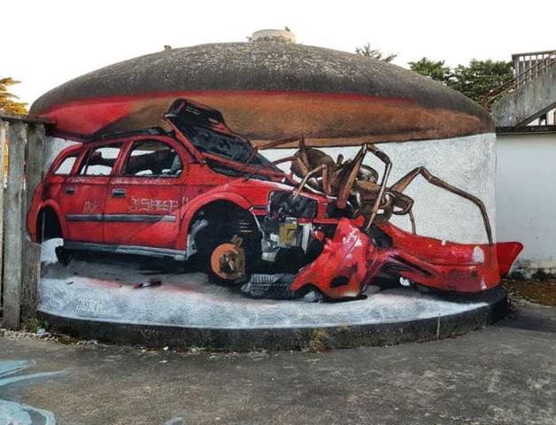 3D Graffiti çalışmaları