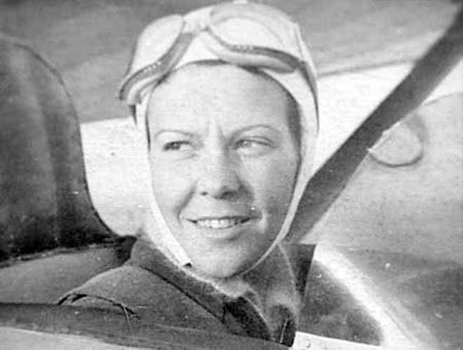 İlk kadın pilot