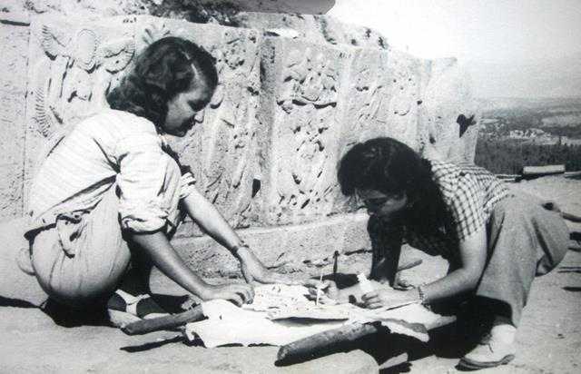 İlk kadın arkeolog