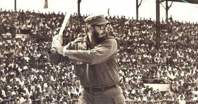 fidel castro Beyzbol