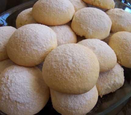pamuk kurabiye tarifi