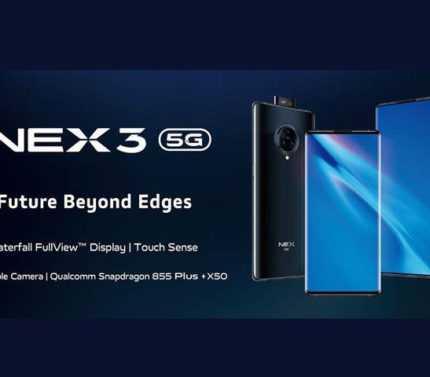 Vivo NEX 3 tanıtıldı